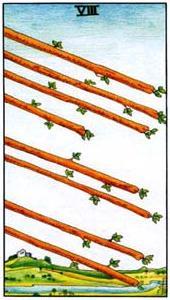 Масть жезлы – младшие арканы таро