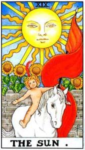 Солнце перевернутый таро значение